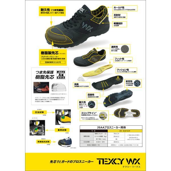 アシックス商事 安全靴 新作 2019 メンズ レディース テクシーワークス longpshoe 04