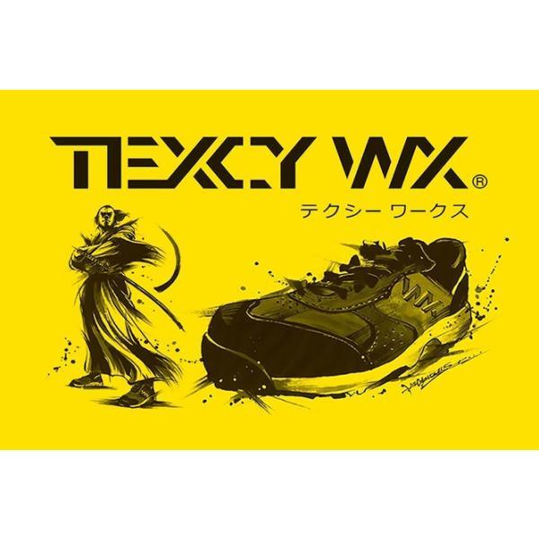 アシックス商事 安全靴 新作 2019 メンズ プロスニーカー テクシーワークス|longpshoe|02