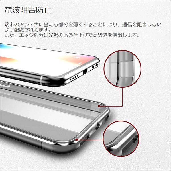 iPhone XS Max XR XS X TPU ソフト ケース 耐衝撃 保護 クリア 電波 影響 防止 アイフォン カバー 軽い looco-shop 05