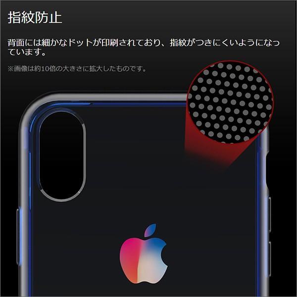 iPhone XS Max XR XS X TPU ソフト ケース 耐衝撃 保護 クリア 電波 影響 防止 アイフォン カバー 軽い looco-shop 06