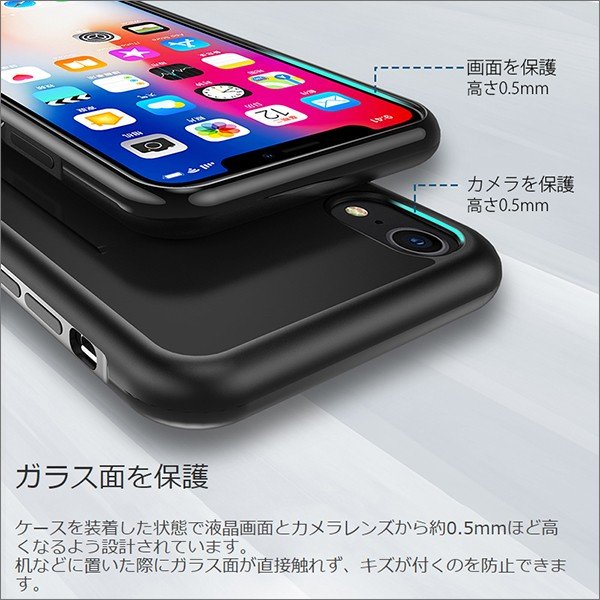 iPhone 11 Pro Max XR XS Max X 8 7 6 6s Plus ケース カード収納 嵌め込み 抜群の手触り感|looco-shop|06