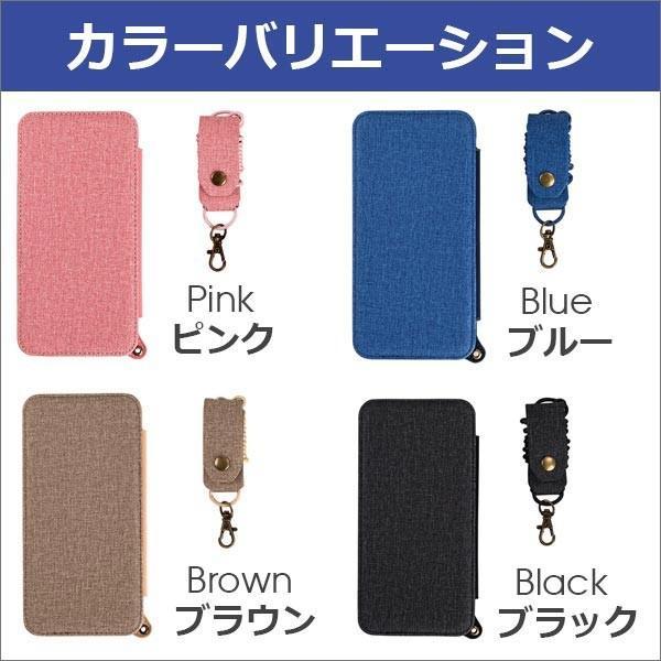 iPhone XR XS Max X 8 7 Plus 6 ネック ストラップ ミラー はめ込み カード 収納 ポケット 首かけ OL アイフォン 便利な鏡付き looco-shop 11