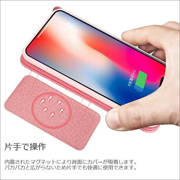 iPhone XR XS Max X 8 7 Plus 6 ネック ストラップ ミラー はめ込み カード 収納 ポケット 首かけ OL アイフォン 便利な鏡付き looco-shop 05