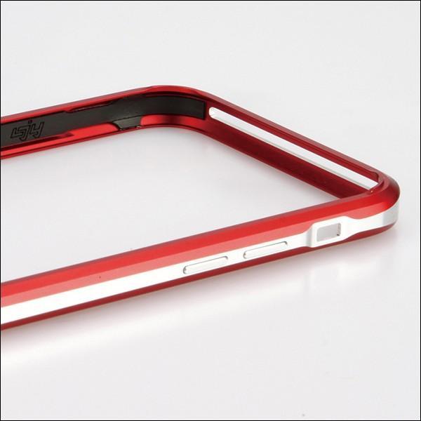 LJY SWORD PRO+ 2色 ツートン iPhone SE/5/5s/6/6s ストラップ ホール アルミニウム バンパーケース sword ケース アルミ ハードケース バンパー フレーム|looco-shop|02