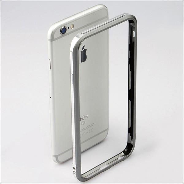 LJY SWORD PRO+ 2色 ツートン iPhone SE/5/5s/6/6s ストラップ ホール アルミニウム バンパーケース sword ケース アルミ ハードケース バンパー フレーム|looco-shop|03