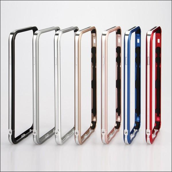 LJY SWORD PRO+ 2色 ツートン iPhone SE/5/5s/6/6s ストラップ ホール アルミニウム バンパーケース sword ケース アルミ ハードケース バンパー フレーム|looco-shop|04