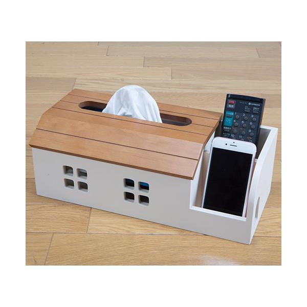 ティッシュケース ティッシュボックス ティッシュカバー かわいい 収納 厚型 北欧 小物入れ リモコンスタンド ケーブルボックス スマホスタンド 木製 YUSH-60