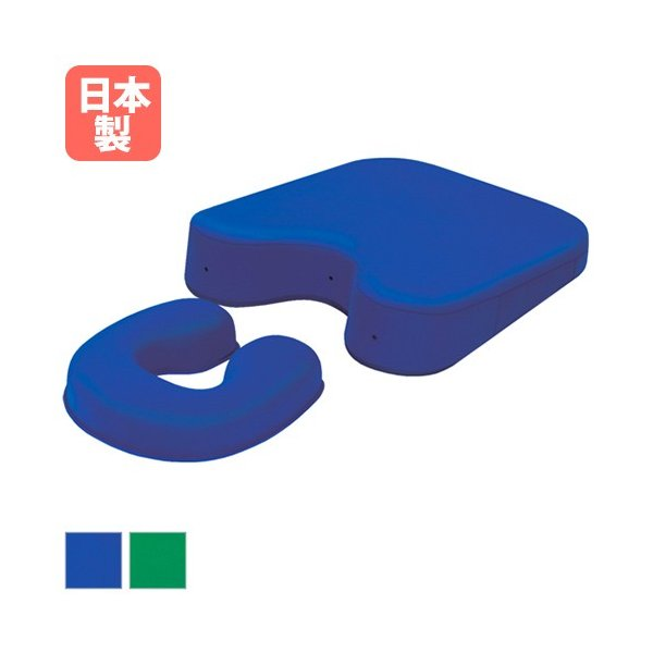 ゆっくり沈んで優しく支える やわらかジェルの胸当て枕セット 日本製 ジェル ピロー 枕 マッサージ 整体院 TB-77-64