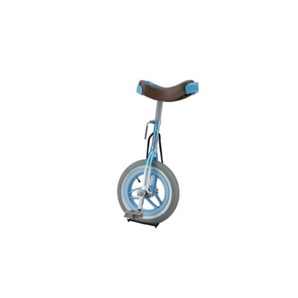 一輪車 12インチ 小学生 幼稚園 保育園 学童 子ども用 一輪 自転車 ブルー ピンク パステルカラー 女子 女の子 可愛い ブリヂストン ユニサイクル S-9100-01