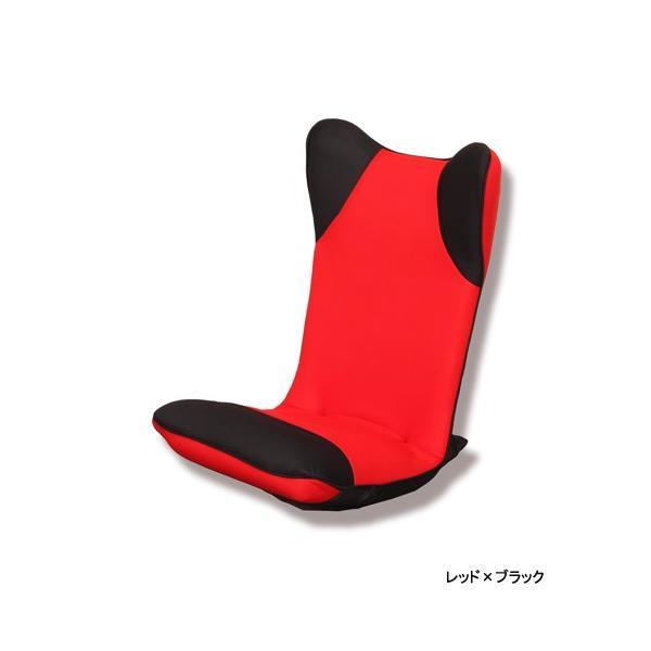 【2%OFFクーポン!8/26まで】座椅子 ハイバック 布張り座椅子 1人用チェア メッシュ生地 1人掛け シンプルチェア フロアチェア 居間 1人暮らし リビング ダンボ|lookit|02