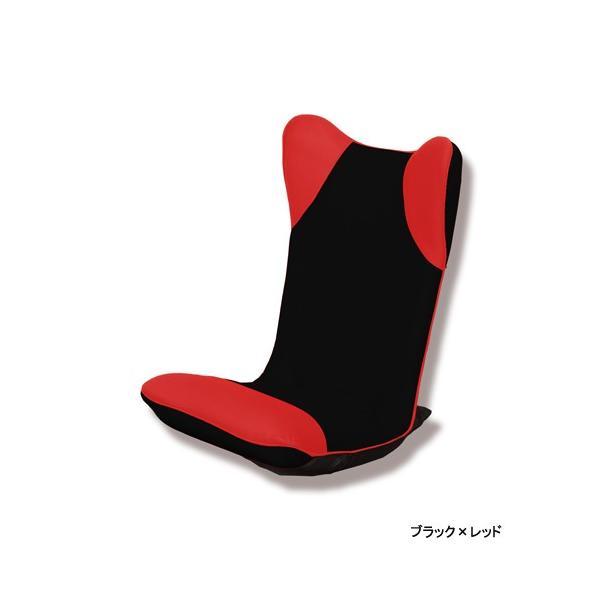 【2%OFFクーポン!8/26まで】座椅子 ハイバック 布張り座椅子 1人用チェア メッシュ生地 1人掛け シンプルチェア フロアチェア 居間 1人暮らし リビング ダンボ|lookit|03