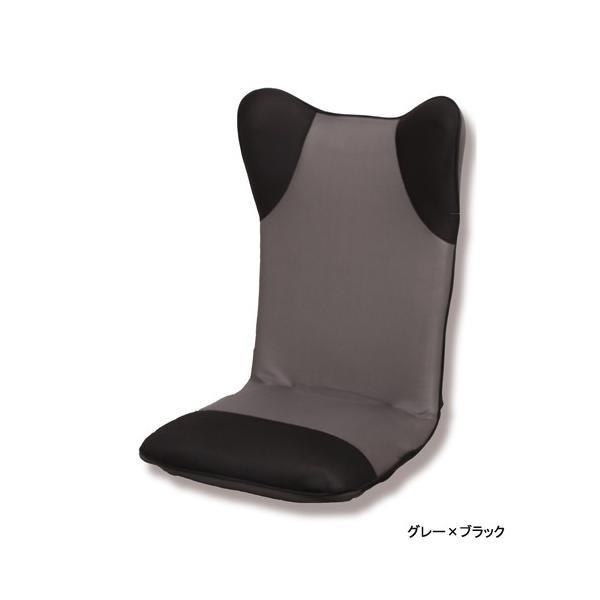 【2%OFFクーポン!8/26まで】座椅子 ハイバック 布張り座椅子 1人用チェア メッシュ生地 1人掛け シンプルチェア フロアチェア 居間 1人暮らし リビング ダンボ|lookit|05