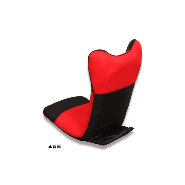 【2%OFFクーポン!8/26まで】座椅子 ハイバック 布張り座椅子 1人用チェア メッシュ生地 1人掛け シンプルチェア フロアチェア 居間 1人暮らし リビング ダンボ|lookit|07
