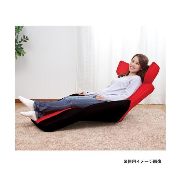 マンボウソファ グラン・デルタ・スーパーマンボウ 送料無料 リクライニング座椅子 1人掛けチェア リクライニングチェア 座椅子 フロアチェア 布製チェア F-1394|lookit|03