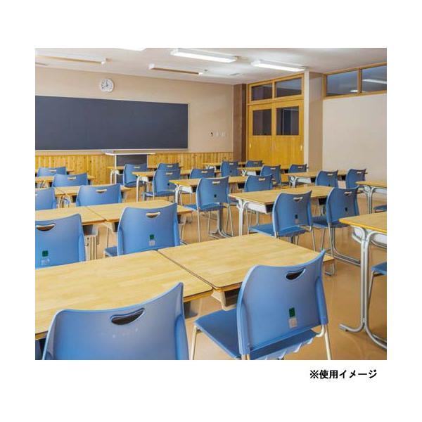 学習椅子 座パット無し 学生椅子 スクールチェア 新JIS対応 カラフル 積み重ね コンパクト 収納 学校 教室 食堂 学生イス スタッキングチェア 送料無料 HIX3N|lookit|06