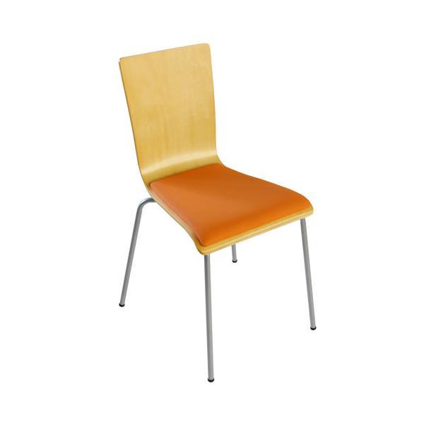 スタッキングチェア イス 椅子 チェア オフィス デスクチェア 積み重ね 省スペース コンパクト セミナー ミーティングチェア 木製 事務椅子 学習椅子 YTH1|lookit