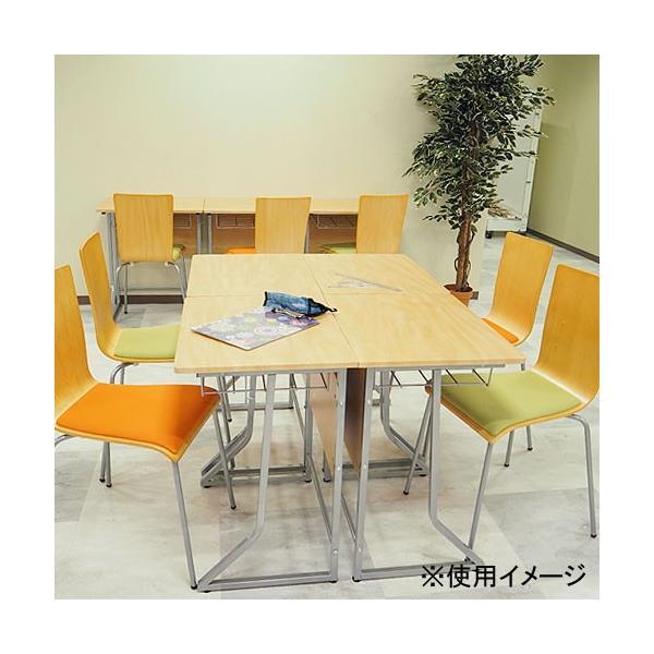 スタッキングチェア イス 椅子 チェア オフィス デスクチェア 積み重ね 省スペース コンパクト セミナー ミーティングチェア 木製 事務椅子 学習椅子 YTH1|lookit|11