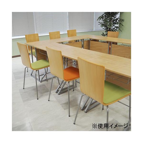 スタッキングチェア イス 椅子 チェア オフィス デスクチェア 積み重ね 省スペース コンパクト セミナー ミーティングチェア 木製 事務椅子 学習椅子 YTH1|lookit|13