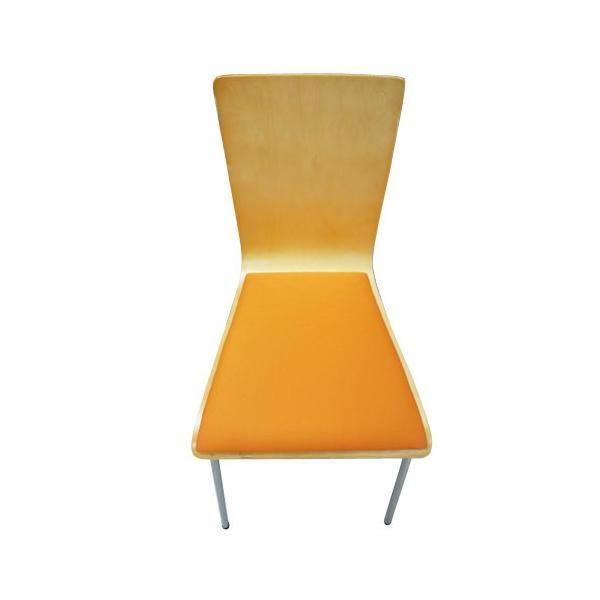 スタッキングチェア イス 椅子 チェア オフィス デスクチェア 積み重ね 省スペース コンパクト セミナー ミーティングチェア 木製 事務椅子 学習椅子 YTH1|lookit|03
