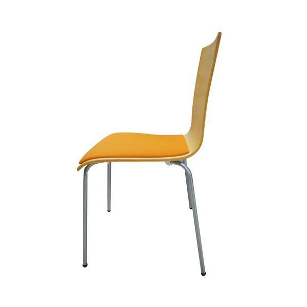 スタッキングチェア イス 椅子 チェア オフィス デスクチェア 積み重ね 省スペース コンパクト セミナー ミーティングチェア 木製 事務椅子 学習椅子 YTH1|lookit|04