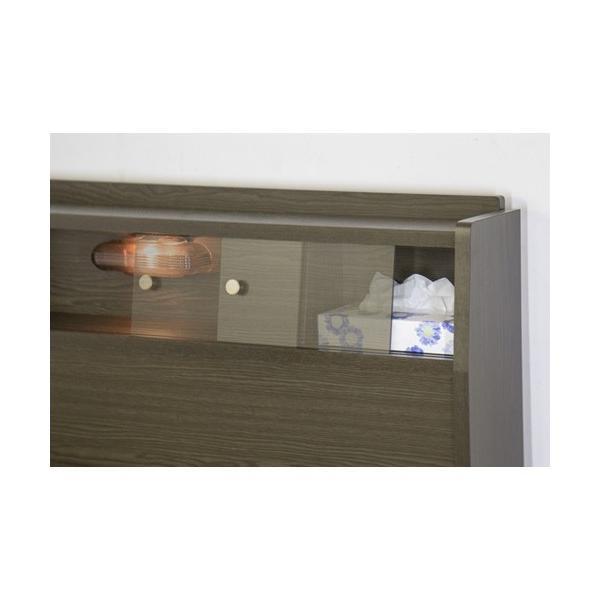 畳ベッド シングル 畳もフレームもオール日本製 防湿防虫加工 引き出し付き 照明付き 日本製 ベッド 国産 介護ベッド タタミベッド 収納付きベッド A151S|lookit|07