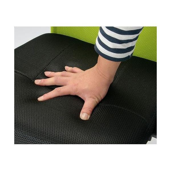 【 法人 送料無料 】 オフィスチェア メッシュチェア 肘なし 椅子 パソコンチェア デスクチェア 腰痛対策 メッシュ コンパクト 会社 腰痛 ハンター肘なし VMC-29|lookit|12