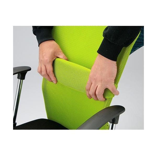 【 法人 送料無料 】 オフィスチェア メッシュチェア 肘なし 椅子 パソコンチェア デスクチェア 腰痛対策 メッシュ コンパクト 会社 腰痛 ハンター肘なし VMC-29|lookit|13