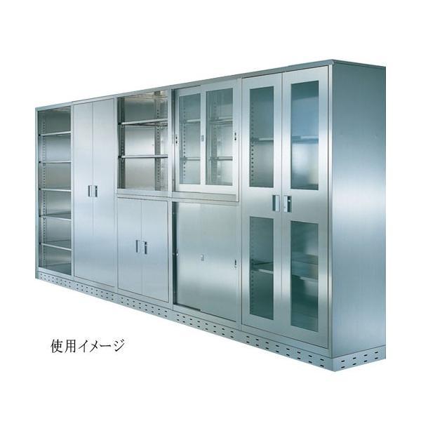 両開き書庫 BSU-99RS 大学 クリーンルーム 戸棚|lookit|02