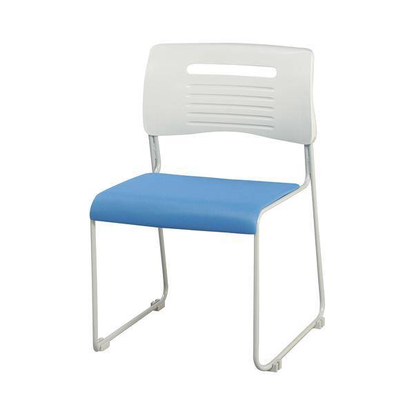 【法人限定】 ミーティングチェア 布張り 積み重ねOK 4色展開 ブラック ライム オレンジ ブルー スタッキングチェア 会議用椅子 会議椅子 会議用チェア PMC-430|lookit|08
