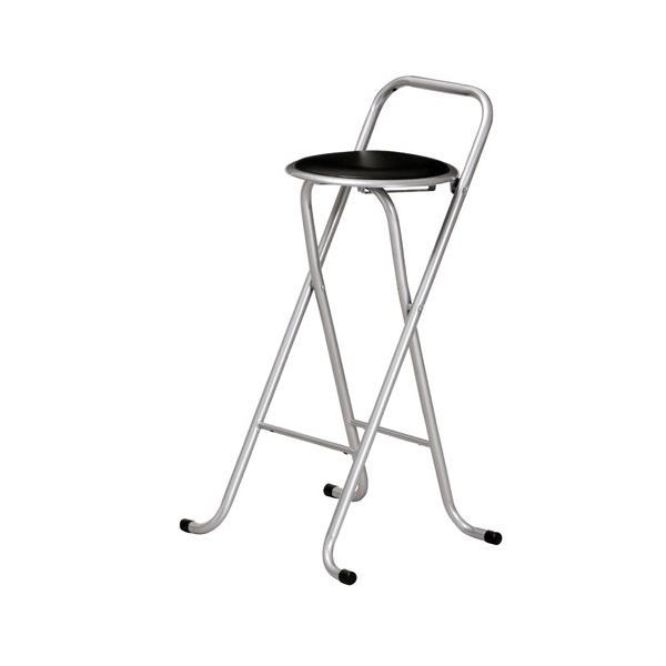 カウンターチェア 6脚セット ハイチェア 折りたたみチェア ビニールシート張り スチール脚 チェア 椅子 リビング キッチン PFC-700S|lookit|02