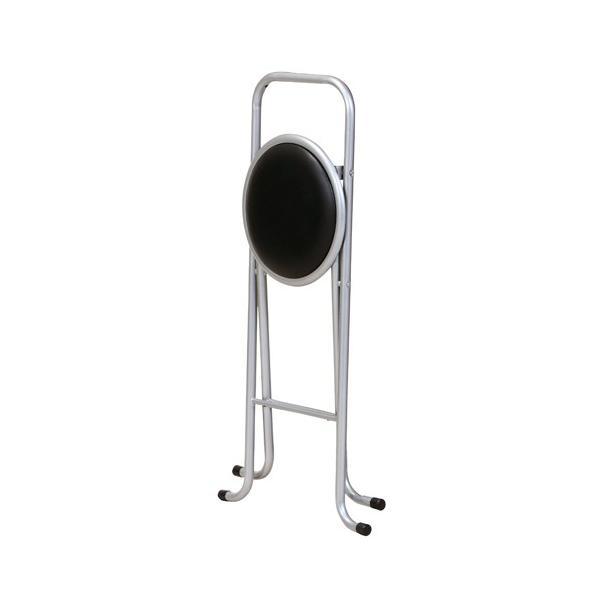 カウンターチェア 6脚セット ハイチェア 折りたたみチェア ビニールシート張り スチール脚 チェア 椅子 リビング キッチン PFC-700S|lookit|03
