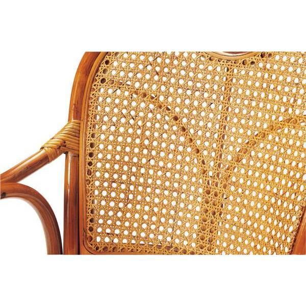 【2%OFFクーポン配布8/15〜8/20まで】ラタンチェア R-390S 回転イス クッション 椅子 藤|lookit|02