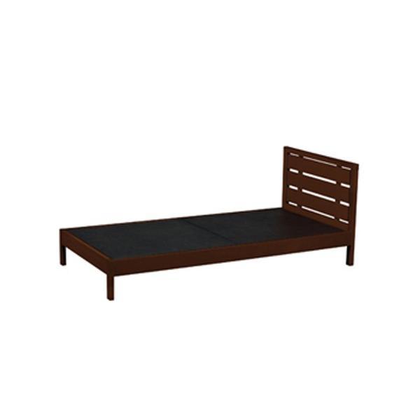 木製ベッド ベッドフレーム 木製フレーム シングルサイズ ベッド シングルベッド シンプル モダン 寝室 子供部屋 寝具 WBD-M01BR lookit