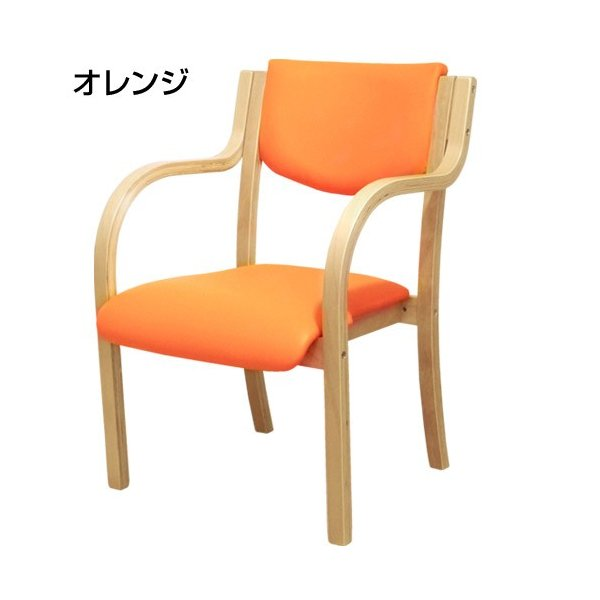 ダイニングチェア 木製 完成品 肘付き 椅子 肘掛 スタッキングチェア ダイニング チェア 介護 病院 待合室 いす 木製椅子 おしゃれ ダイニングチェアー LDCH-1 lookit 15