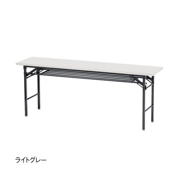 折りたたみテーブル 会議テーブル 180 45 180cm 高さ70 折りたたみ 角型 軽い 会議用テーブル 長机 学校 ソフトエッジ 折り畳み ミーティングテーブル KCT-1845|lookit|07