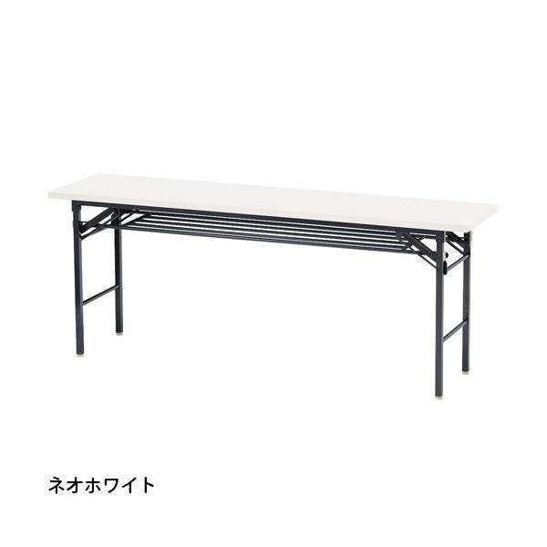 折りたたみテーブル 会議テーブル 180 45 180cm 高さ70 折りたたみ 角型 軽い 会議用テーブル 長机 学校 ソフトエッジ 折り畳み ミーティングテーブル KCT-1845|lookit|08