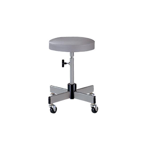 【最大1万円OFFクーポン!12/10まで】スツール 丸椅子 丸イス いす キャスター付 T-5K|lookit