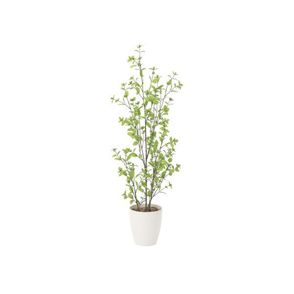 ユーカリ 130cm 幅43×奥行40×高さ130cm 人工観葉植物 光触媒 鉢植えタイプ 造花 インテリアグリーン 人工植物 インテリア小物 819A280-44