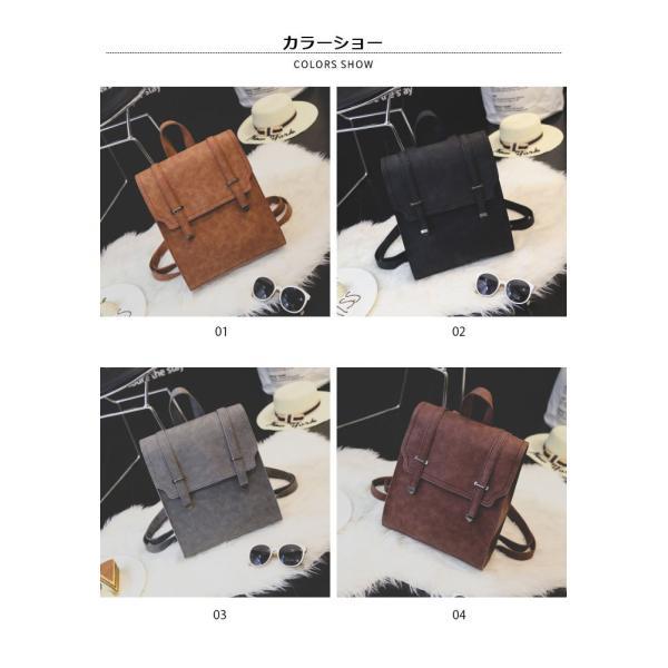 サッチェルバッグ レディース リュックサック カジュアルリュック 鞄 カバン A4サイズ対応 4カラー 大人可愛い|lookume|02