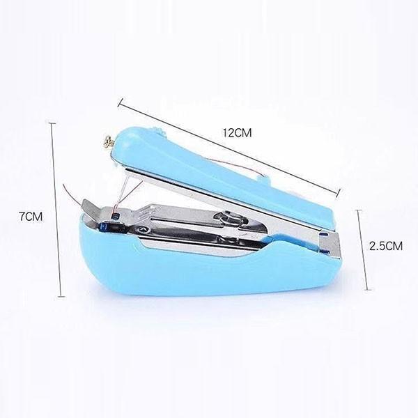 手の平サイズ ハンディ ミシン ポータブル 本体 携帯 ホッチキス式 裁縫セット 小学校 送料無料|lool-shop|02