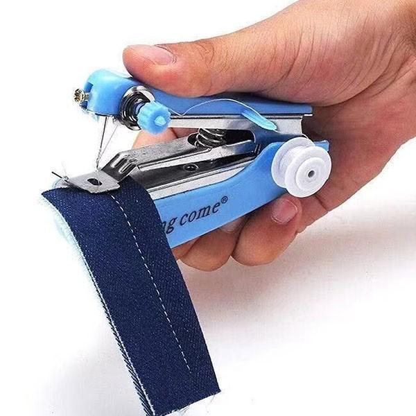 手の平サイズ ハンディ ミシン ポータブル 本体 携帯 ホッチキス式 裁縫セット 小学校 送料無料|lool-shop|06