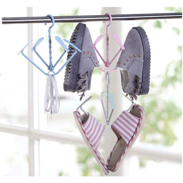 ポイント消化 北欧 風 シューズハンガー 2個セット おしゃれ な 靴干し シューズ ハンガー|lool-shop