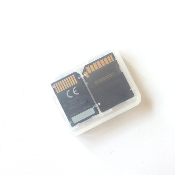 大容量 メディアケース SD microSDカード メモリースティック PRO Duo 収納 メモリーカードケース クリアケース|lool-shop|03