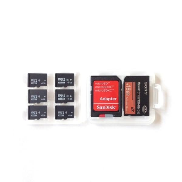 大容量 メディアケース SD microSDカード メモリースティック PRO Duo 収納 メモリーカードケース クリアケース|lool-shop|04