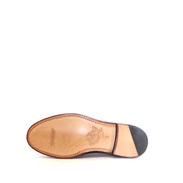 JALAN SRIWIJAYA ジャランスリウァヤ 98589 ブラウン コインローファー ペニーローファー Uチップモカ カーフレザー レザーソール|loop-shoes|03