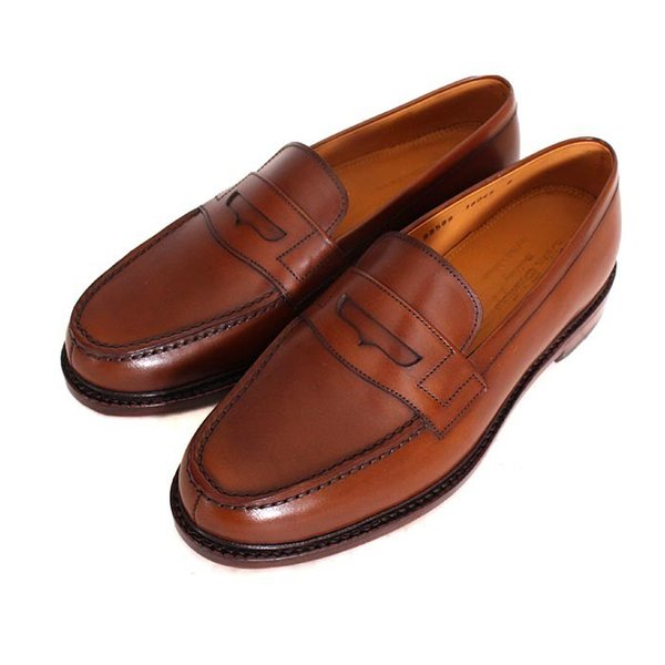 JALAN SRIWIJAYA ジャランスリウァヤ 98589 ブラウン コインローファー ペニーローファー Uチップモカ カーフレザー レザーソール|loop-shoes|05