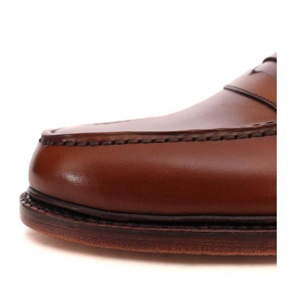 JALAN SRIWIJAYA ジャランスリウァヤ 98589 ブラウン コインローファー ペニーローファー Uチップモカ カーフレザー レザーソール|loop-shoes|10