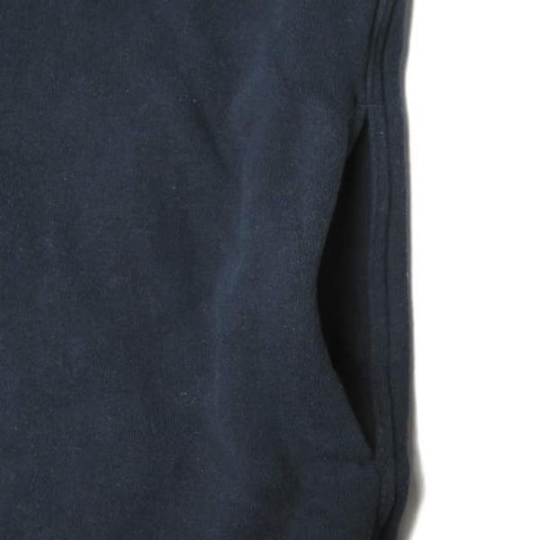 ループウィラー LOOPWHEELER 日本製 スウェットCPOシャツ M ネイビー ジャケット トップス|looponline|06