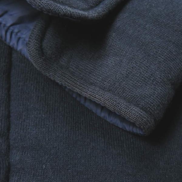 ループウィラー LOOPWHEELER 日本製 スウェットCPOシャツ M ネイビー ジャケット トップス|looponline|08