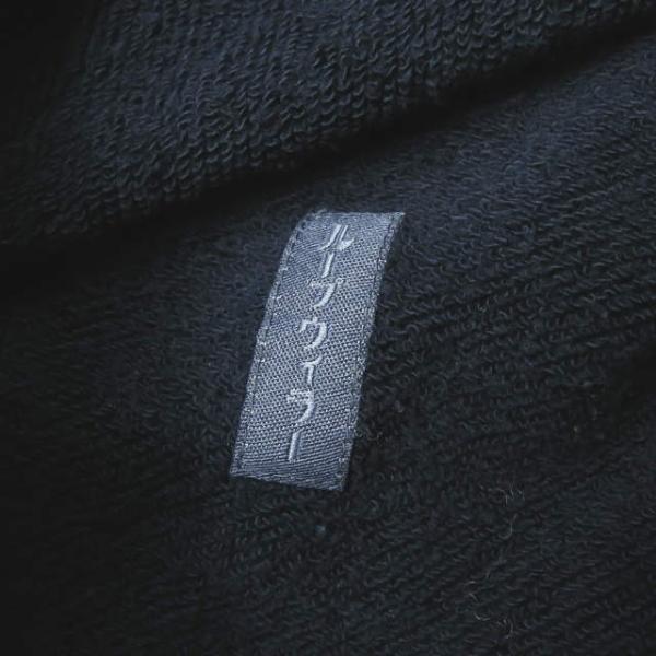 ループウィラー LOOPWHEELER 日本製 スウェットCPOシャツ M ネイビー ジャケット トップス|looponline|10